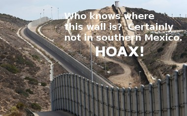 Mexico guatemala border wall